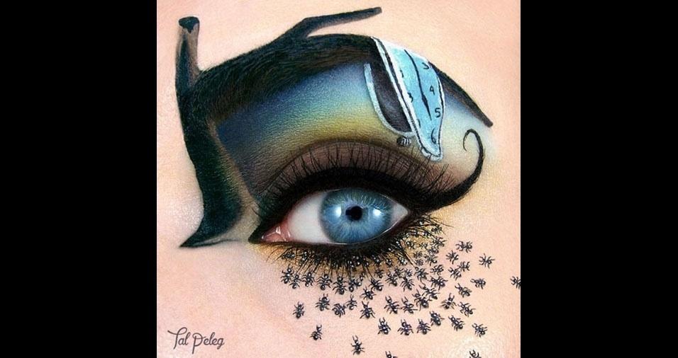 26. Reprodução de obra de Salvador Dali