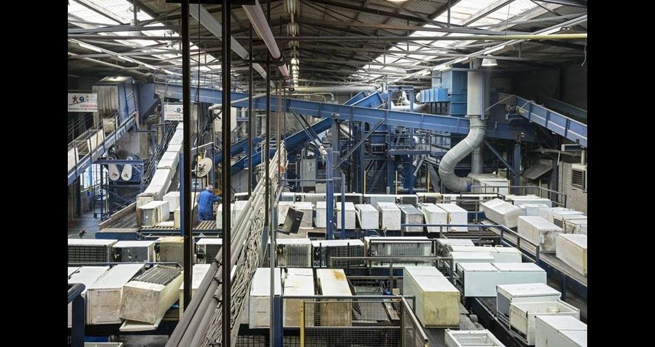 9. A organização nas fábricas de recicláveis é possível