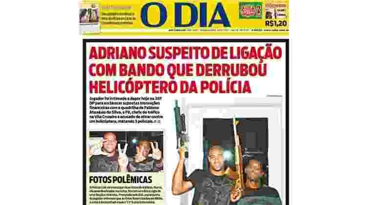 Reprodução/Jornal O Dia