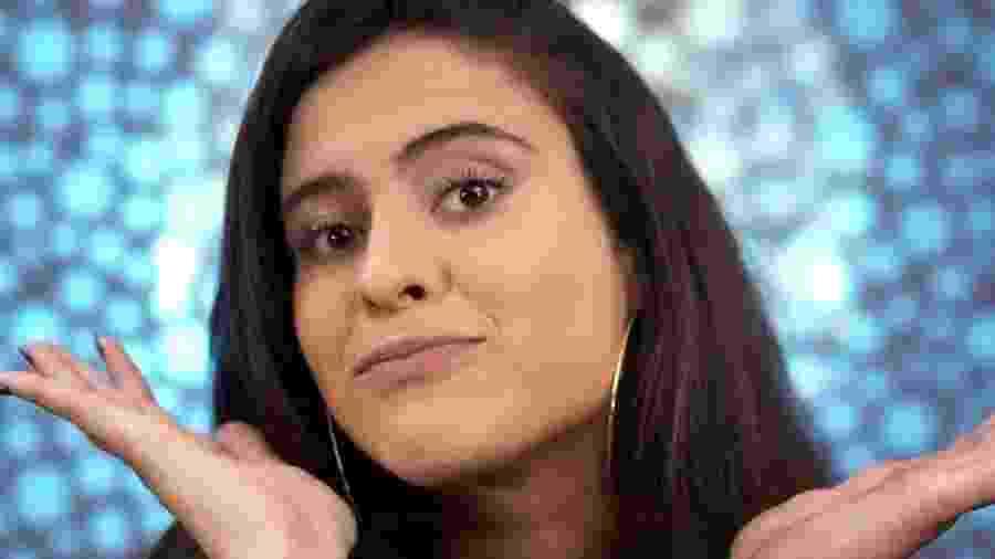 Hana Khalil posa para foto antes de entrar no reality show - Reprodução/TV Globo