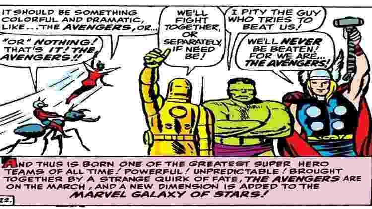 Reprodução/The Avengers #1/Marvel Comics