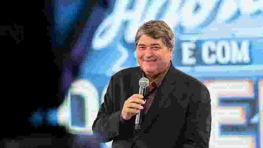 Datena tem quadro de diabetes agravado por ter removido parte do pâncreas devido a um tumor em 2006 - Kelly Fuzaro/TV Bandeirantes