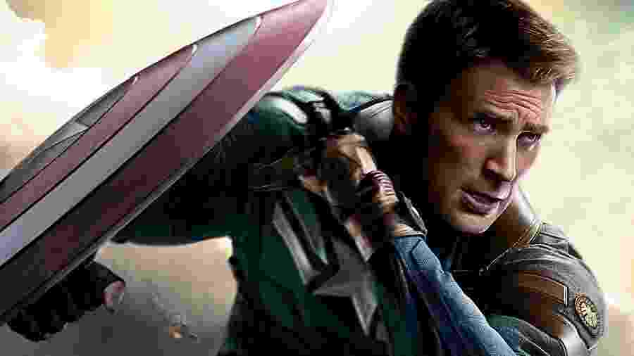 Chris Evans - Capitão América e Tocha Humana - Divulgação/Marvel Studios