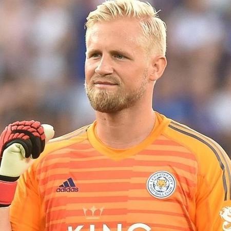 Kasper Schmeichel, goleiro da Dinamarca - Divulgação/Leicester City FC