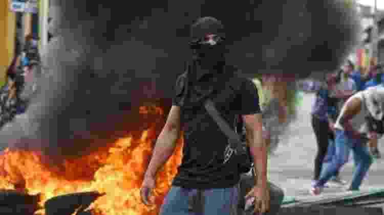 A Guarda Nacional  - JUAN BARRETO/AFP/GETTY IMAGES - JUAN BARRETO/AFP/GETTY IMAGES