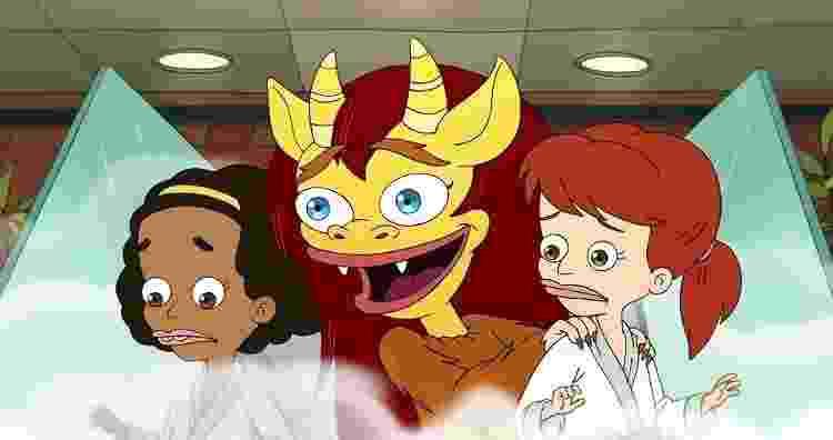 'Big Mouth': à esquerda, a personagem Missy, que trocou de dubladora - Divulgação/Netflix - Divulgação/Netflix