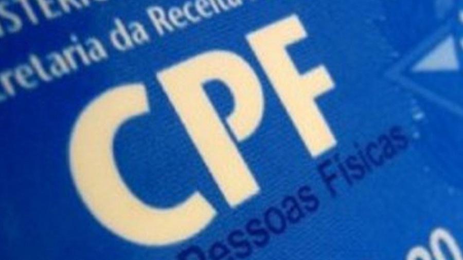 CPF pode ser regularizado por email - Reprodução/Correio do Seridó