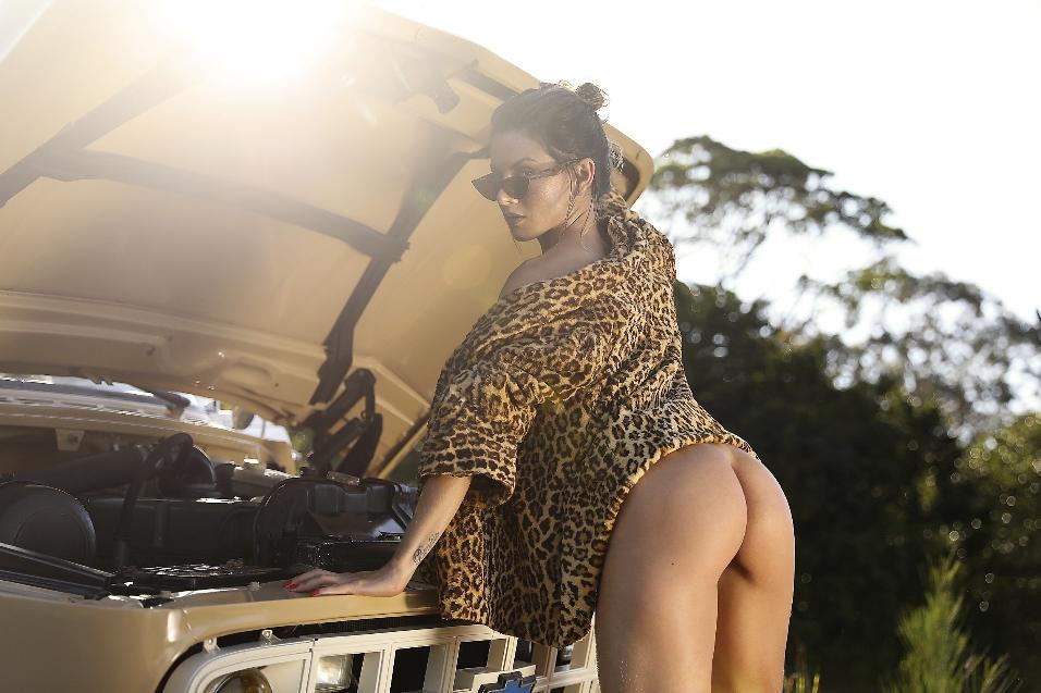 Shirlei Soares em ensaio no Diamond Brazil