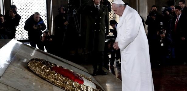 Em busca de diálogo com o islã e para apoiar a minoria cristã no Oriente Médio, o papa Francisco faz em sua primeira viagem à Turquia - EFE