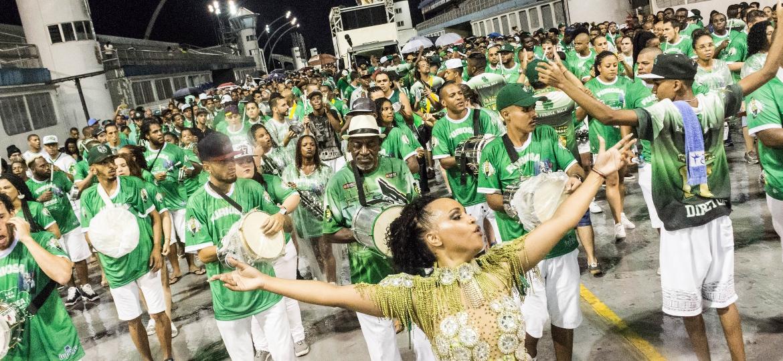Primeiro ensaio técnico de 2018 será da Camisa Verde e Branco - Rogério de Santis/Estadão Conteúdo