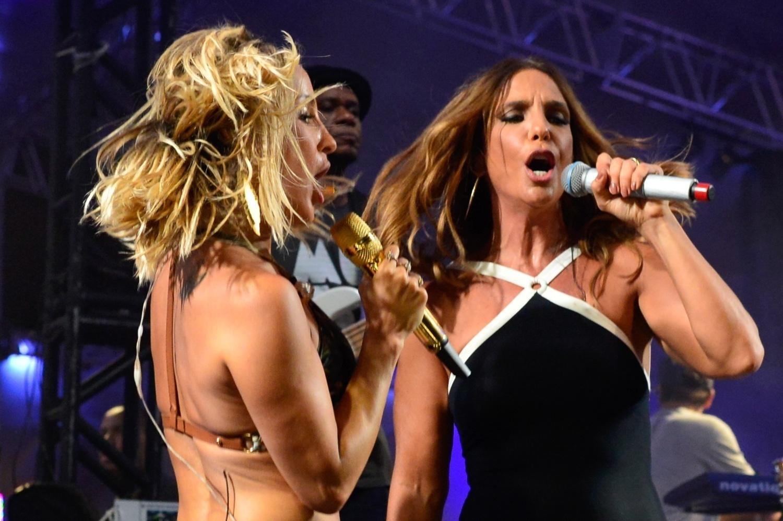 1d03d0e5c Fotos  Ivete e Claudia Leitte dançam juntas em Salvador no ensaio do ...
