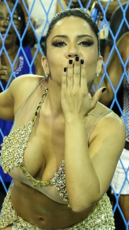 Renata Frisson, a Mulher Melão, não pôde entrar na terra do Tio Sam - Roberto FIlho/Brazil News