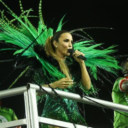 Ivete Sangalo é homenageada pela Grande Rio - Roberto Filho/Brazil News