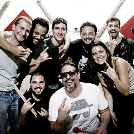 20.jan.2017 - Bloco carnavalesco Let? s Block estreia tocando clássicos do rock e garante que não transformará os hits em samba nem marchinhas - Divulgação