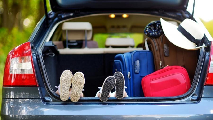 Nem sempre um bagageiro com litragem alta acomoda bem bolsas e malas -