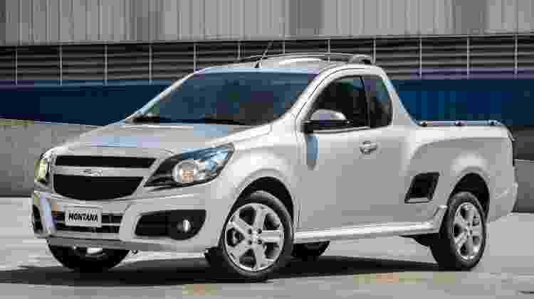 Substituta da Chevrolet Montana está sendo desenvolvida no Brasil para brigar com Fiat Toro - Divulgação - Divulgação
