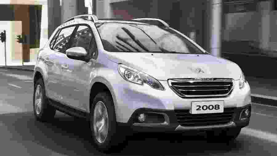 Peugeot 2008 é uma das boas opções com poucos anos de uso na faixa de R$ 50 mil - Divulgação