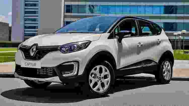 Renault Captur Zen 1.6 - Divulgação - Divulgação