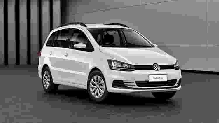 Volkswagen SpaceFox Trendline - Divulgação - Divulgação
