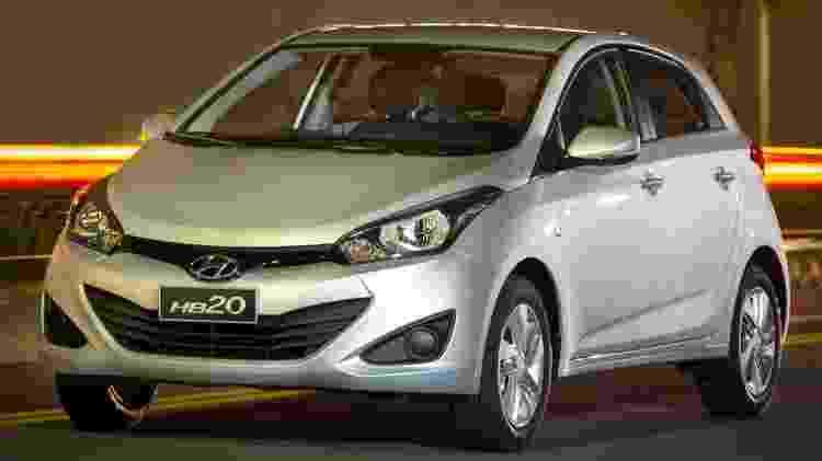 Hyundai HB20 foi o carro mais roubado em São Paulo no segundo semestre de 2017 -  -
