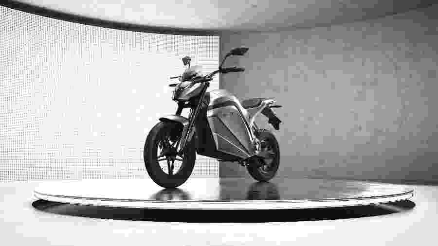 Voltz EVS atinge 120 km/h e autonomia chega a 180 quilômetros, em versão com duas baterias, garante a empresa pernambucana - Divulgação