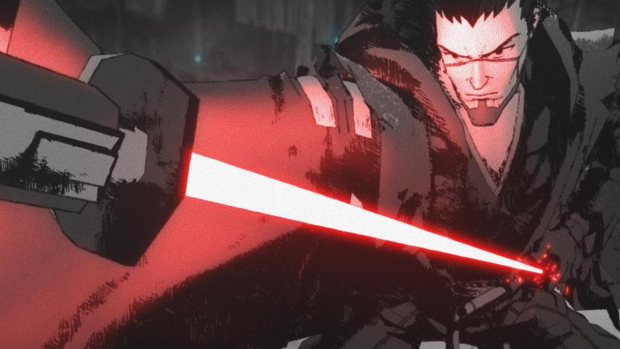 """""""O Duelo"""", episódio de abertura de """"Star Wars Visions"""" - Disney/LucasFilm"""