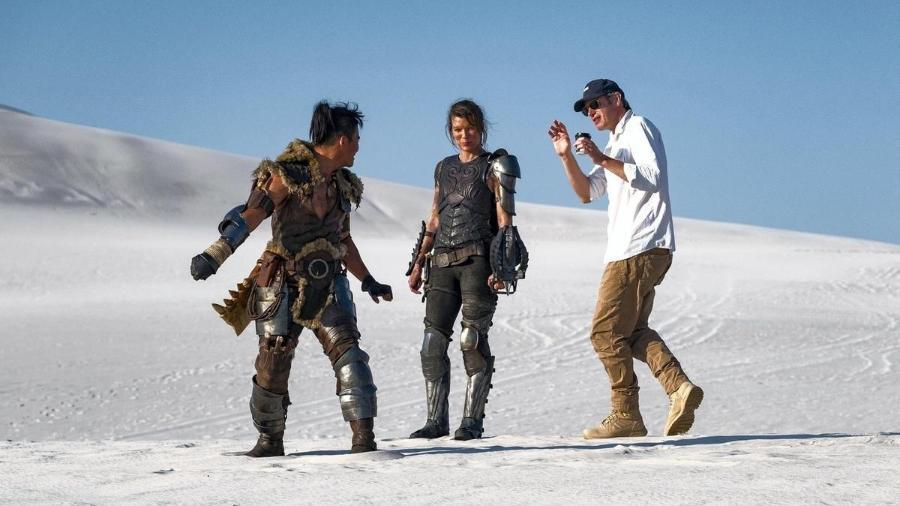 "Paul W.S. Anderson dirige Tony Jaa e Milla Jovovich em ""Monster Hunter"" - Sony"