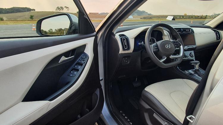 Novo Hyundai Creta 2022 Ultimate acabamento - Rafaela Borges/UOL - Rafaela Borges/UOL