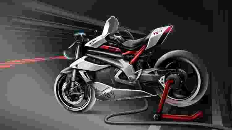 moto elétrica Triumph - Divulgação - Divulgação