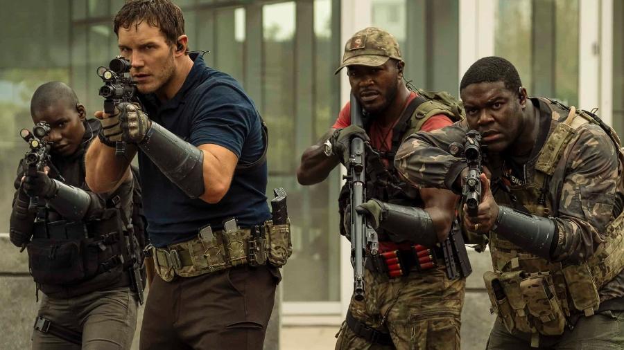 """Chris Pratt à frente de """"A Guerra do Amanhã"""" - Amazon Studios"""