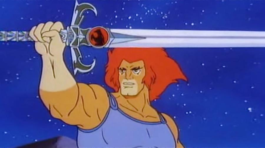 """Lion-O, o líder dos """"Thundercats"""" - Reprodução"""