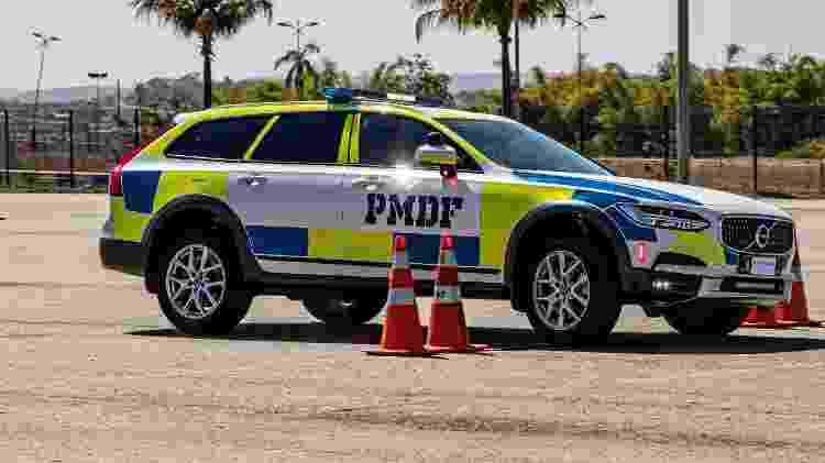 Viaturas de polícia testadas em autódromo - Ascom PRF Goiás - Ascom PRF Goiás