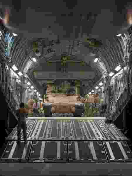 C-17 - Sgt. Daniel Martinez/Força Aérea dos EUA - Sgt. Daniel Martinez/Força Aérea dos EUA