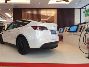 Tesla Model Y Posteriore - Rafaela Borges / UOL - Rafaela Borges / UOL