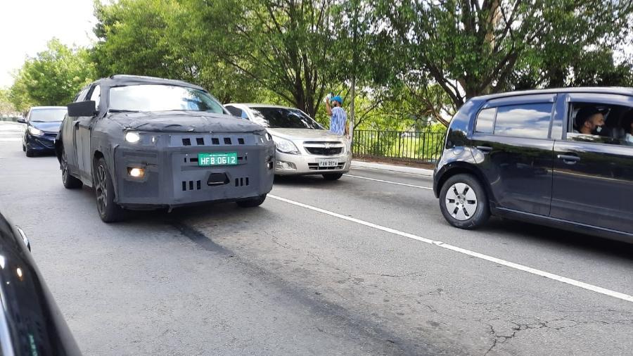 Jeep de sete lugares é flagrado em São Paulo - Ricardo Teixeira