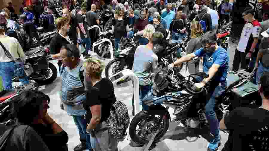 Organizadores tomaram decisão por considerar impossível atender as recomendações das autoridades de saúde em uma feira de motos  - Divulgação/Koelnmesse