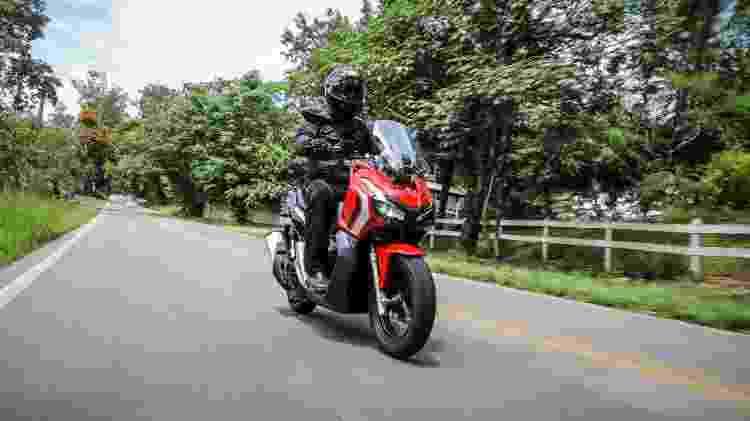 Honda ADV estrada - Divulgação - Divulgação