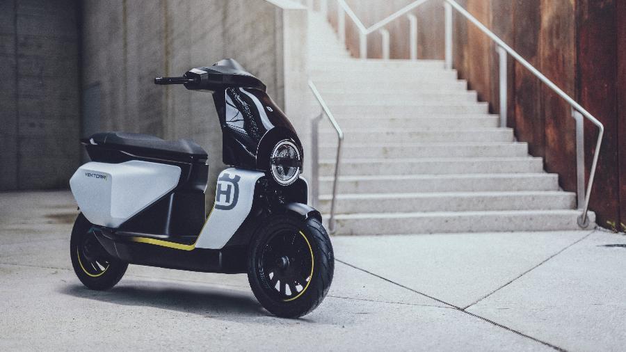 Vektorr Concept é scooter elétrico com 45 km/h de velocidade máxima e 90 km de autonomia  - Divulgação