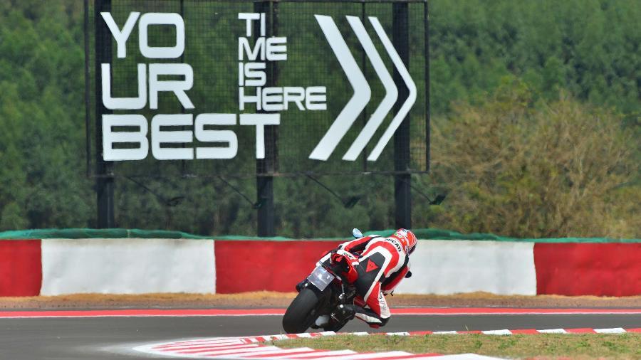 Motociclistas poderão escolher três modelos para acelerar na pista nos dias 21 e 22 de novembro; ingressos custam R$ 395 - Divulgação