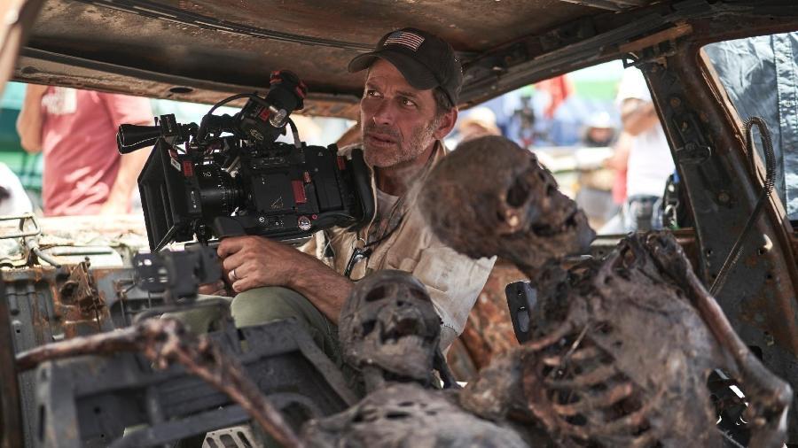 "Zack Snyder, diretor de ""Army of the Dead"" - Netflix"