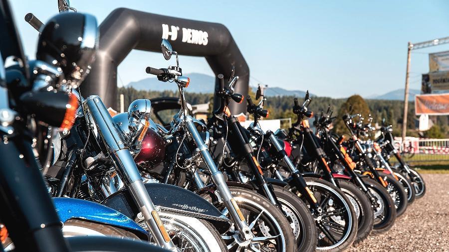 Patrocinada pela Harley-Davidson, European Bike Week acontece entre 7 e 12 de setembro em Faaker See, na Áustria  - Divulgação