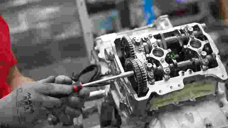 Superleggera V4 motor - Divulgação - Divulgação