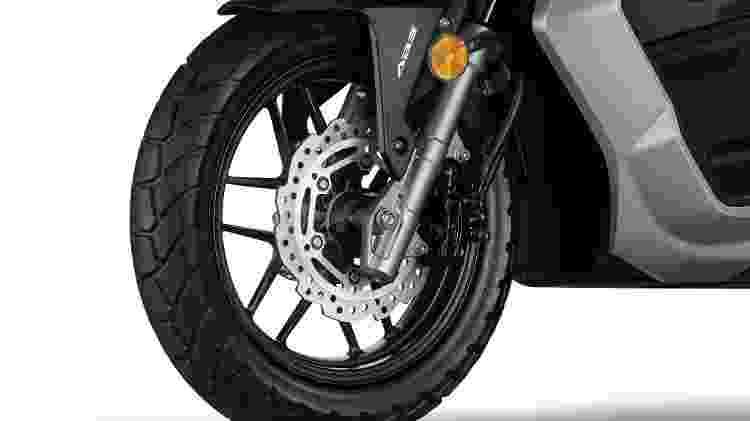 PCX roda dianteira - Divulgação - Divulgação