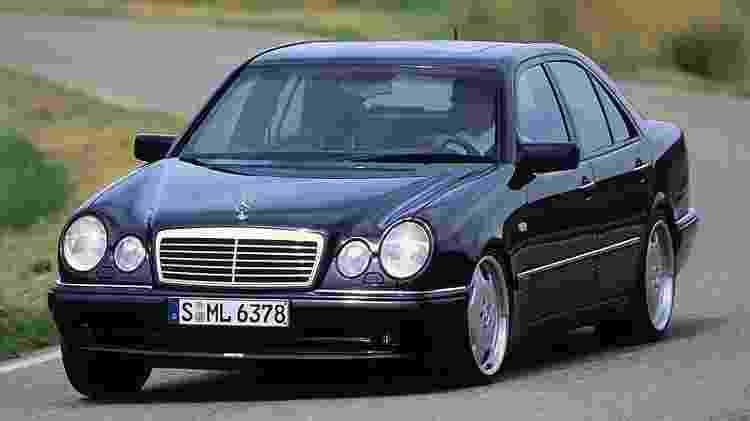 Mercedes-Benz Classe E - Divulgação - Divulgação