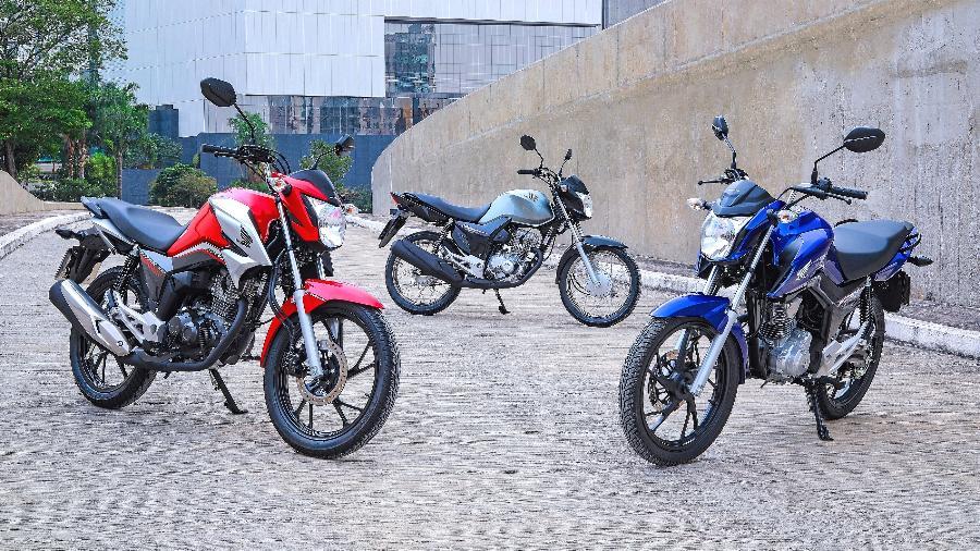 Linha Honda CG 160 passou por face-lift no modelo 2022, mas manteve a ciclística e o motor de 162,7 cm³  - Divulgação