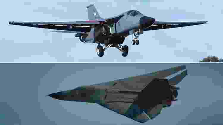F-111 - Montagem/Ministério da Defesa da Austrália - Montagem/Ministério da Defesa da Austrália