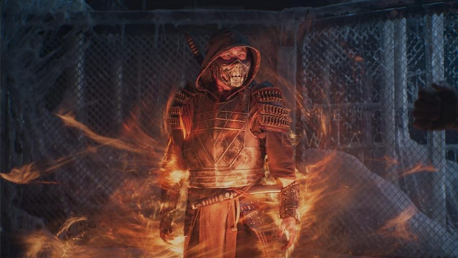 "Hiroyoki Sanada é Scorpion em ""Mortal Kombat"" - Warner"