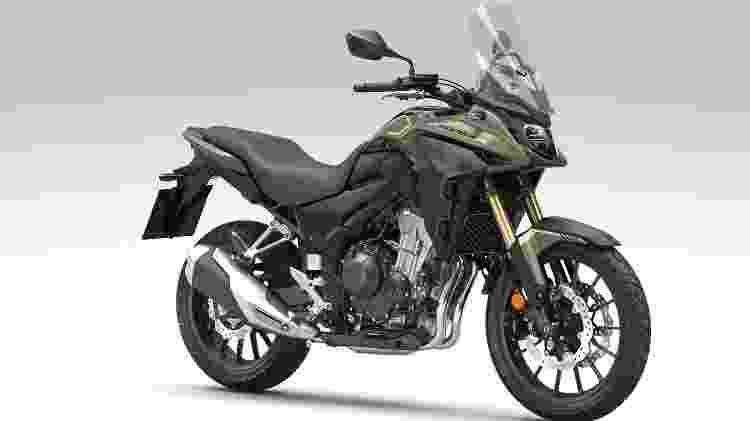 Honda CB 500X 2022 - Divulgação - Divulgação