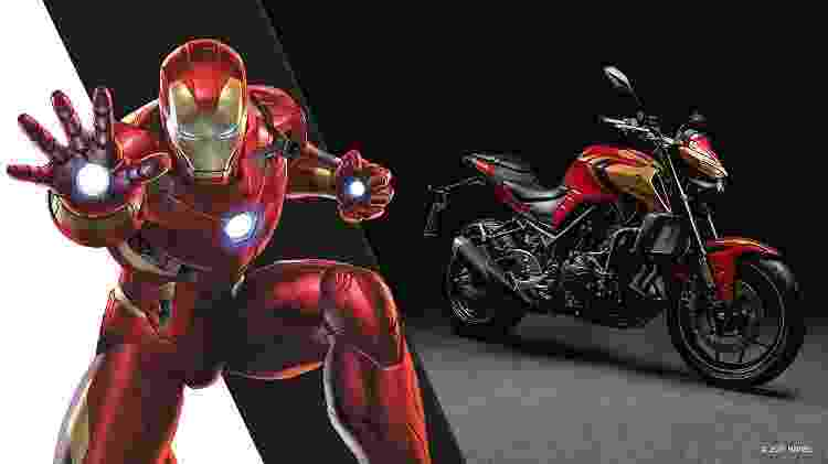 MT03 Iron Man - Divulgação - Divulgação