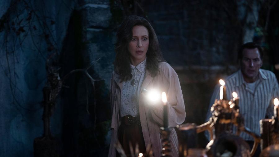 """Vera Farmiga e Patrick Wilson em """"Invocação do Mal - A Ordem do Demônio"""" - Warner"""